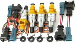 440cc Toyota Mr2 Supercharged 4agze Fuel Injectors Genuine Bosch 1988-1989 Model