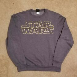 Star Wars Embroidered Sweatshirt Pullover Lucasfilm Ltd. Menand039s Size Small