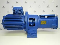 Hydroster Pump Ace 038 2n1c2 Triple Screw Oil Pump With Electric Motor