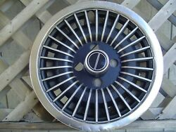 One 1979 90 Ford Fomoco Pony Mustang Turbine Hubcap Wheel Cover Antique Vintage