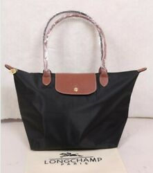 Brand new black Longchamp Le Pliage Tote bag handbag L $48.00