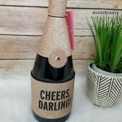 KATE SPADE CHAMPAGNE BOTTLE CHEERS DARLING BAG WRISTLET CLUTCH PURSE NEW HOLIDAY $129.99