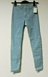 Handm Skinny High Ankle Jeans Light Denim Blue Size Eur W26 Rrp Andpound16.99 Nh003 Bb 09