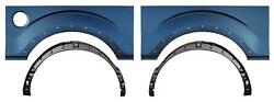 Wheel Arch And Outer Bed Wheelhouse Kit W Holes For 09-14 Ford F150 Pickup Truck