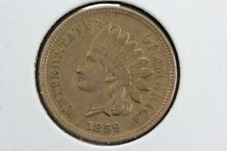 1859 Indian Cent Xf+ 0hl8