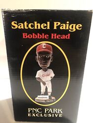SATCHEL PAIGE PITTSBURGH CRAWFORDS PIRATES BOBBLE HEAD DOLL STADIUM GIVE AWAY $35.00