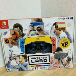 Nintendo Labo Toy-con 04 Vr Kit Switch Japanese Ver Easy