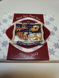 Usps Letters To Santa Christmas Ornament Us Postal Service 100th Anniversary