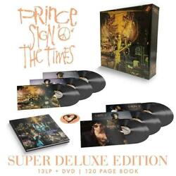 Sign O The Times Super Deluxe Box Set Vinyl 13 Lp + Dvd And Book New/sealed