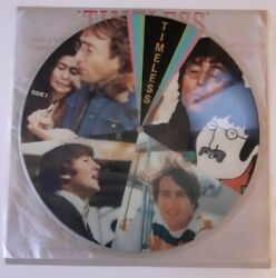 Collectible Vintage The Beatles Timeless Limited Edition Picture Disc Vinyl Lp