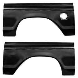Rear Wheel Arch With Square Gas Hole Kit For 77-79 Ford F350 Super Duty Pair