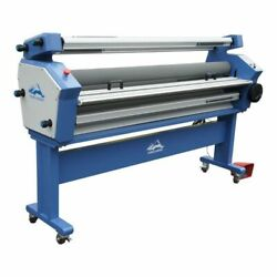 55in Full-auto Wide Format Cold Laminator, With Heat Assisted With Trimmer