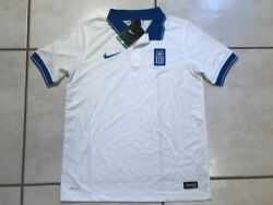 Nwt Nike Greece National Team 2014 Soccer Jersey Youth Large Msrp 75
