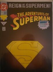 Reign Of The Supermen The Adventures Of Superman