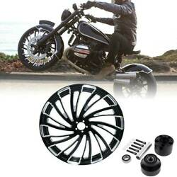 30and039and039 Front Wheel Rim Hub Single Disc For Harley Touring Road King Non Abs 08-20