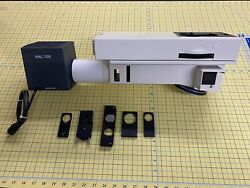 Zeiss Optovar Magnification Changer 452175 With Light Housing Turret And More