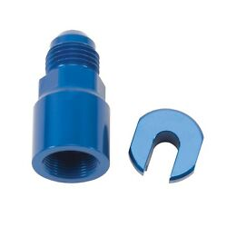 Russell 644120 Efi Fuel Fitting -6 An Male To 3/8 Sae Hardline Adapter Quick