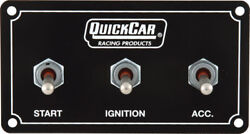 Quickcar Extreme Single Ignition Control Panal And Start Button Waterproof