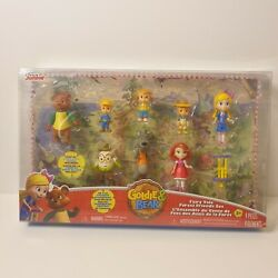 Disney Junior Goldie And Bear Figures With 3 Pigs Big Bad Humpty And Red Riding