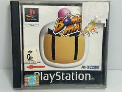 Bomberman + Manual - Playstation 1 Ps1 - Free Tracked Postage