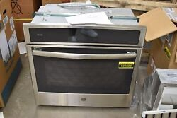 Ge Pt9051slss 30 Stainless Single Electric Wall Oven Nob 102880