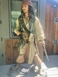Pirates Of The Carribean Life Size Captain Jack Sparrow Hipping Is Cotly