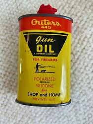 Vintage Outers 445 Gun Oil Can