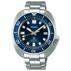 Seiko Prospex 55th Limited Sbdc123 Automatic Marine Blue Stainless Men's Watch
