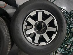 4-runner Rims And Tires Chrome And Black