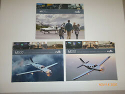 Piper M-series Aircraft Brochures - Complete Set