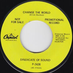 Garage / Psyche--syndicate Of Sound--change The World / Youand039re Looking Fine