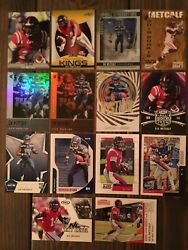 Dk Metcalf Rookie Cards Lot Of 14 - 2019 - Best Wide Receiver In Nfl Today