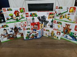 Lego Super Mario Bundle Lot Of 7 Starter Pack And Expansions