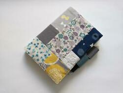 Hobonichi Cousin Diary Cover Handmade Patchwork Design with a Pen Holder $77.99