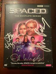 Spaced Signed Autograph Complete Series Dvd Simon Pegg Edgar Wright Jessica Hyne