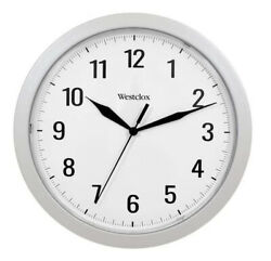 Westclox Quartz 9.75quot; Wall Clock with Hidden Storage 32255