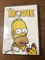 The Simpsons Movie Dvd, 2007, Widescreen Edition New And Factory Sealed