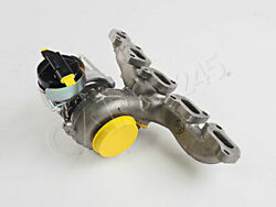 Genuine Vw Beetle Cabrio Exhaust Manifold With Turbocharger 04l253020p