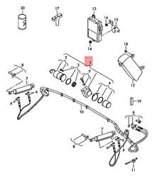Genuine Audi Vw Hydraulic Pump With Electric Motor And Oil Tank 8p7871791a