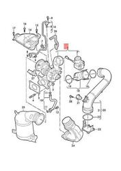 Genuine Vw Audi Golf R32 Exhaust Manifold With Turbocharger 04e145874bx