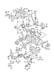 Genuine Vw Audi Beetle Cabrio Exhaust Manifold With Turbocharger 06k145715f