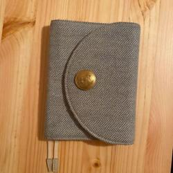 Hobonichi Diary Cover Search amp; Collect Series A6 Size Antique Button Pen Clip $103.99