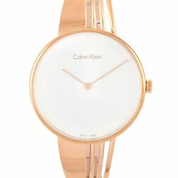 Calvin Klein Drift Rose Gold Pvd-plated Stainless Steel Watch K6s2n616