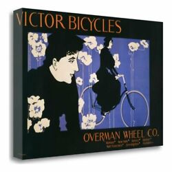 15 X 23 Victor Bicycles - Horizontal Gallery Wrap Canvas