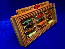 Case Knife Display Collectors Vintage Pocket Knives Counter Top Display Stand