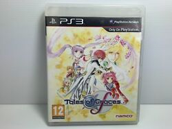 Takes Of Graces F + Manual + Soundtrack And Dvd - Ps3 - Free Tracked Postage