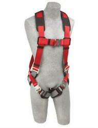 Protecta Pro Vest Style Full Body Harness With Quick Connect Padded Buckle Leg S