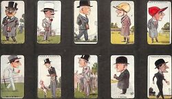 50 'turf Personalities' C1929 Ogden's Cigarette Cards