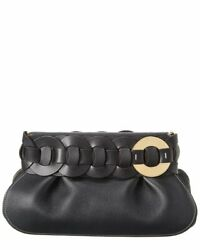 Chloe Darryl Leather Clutch Women#x27;s $1169.99