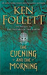 THE EVENING AND THE MORNING by KEN FOLLETT ENGLISH BOOK PAPERBACK $19.99